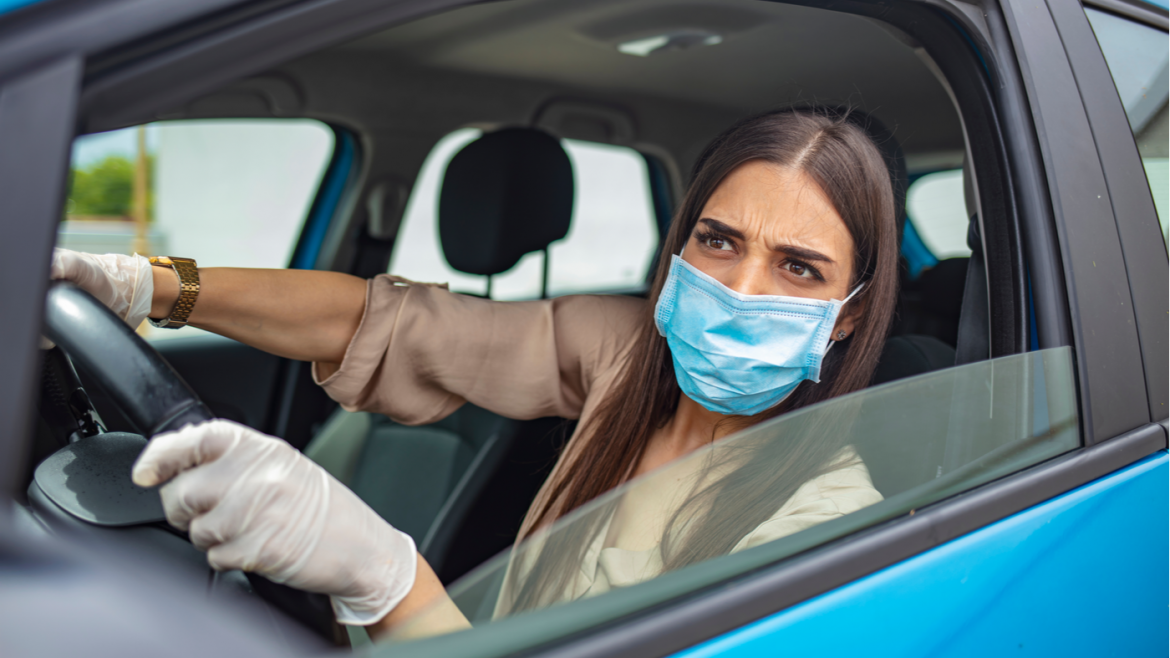Automobile vehicle accident trends during COVID-19