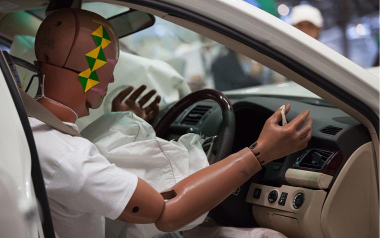 Airbag saves lives